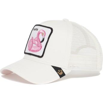 Goorin Bros. Flamingo Floater Trucker Cap weiß