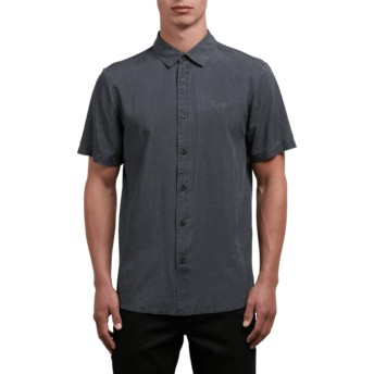Volcom Black Chill Out Kurzärmliges Shirt schwarz