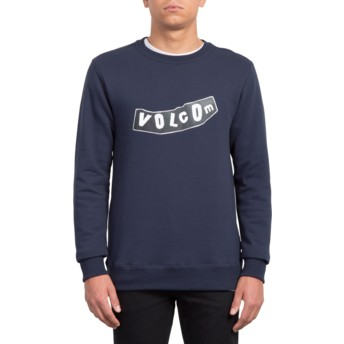 Volcom Navy General Stone Sweatshirt marineblau