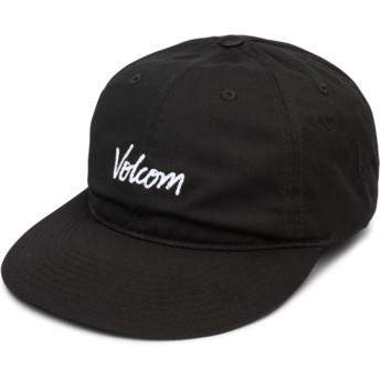 Volcom Curved Brim schwarz Volscripto Adjustable Cap schwarz
