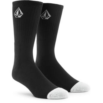Volcom Black Full Stone Socken schwarz