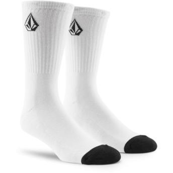 Volcom White Full Stone Socken weiß
