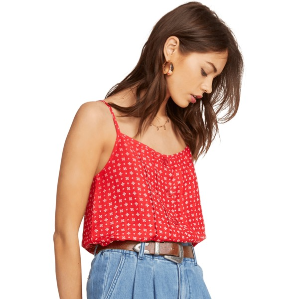 volcom-red-deep-tracks-tank-blouse-rot