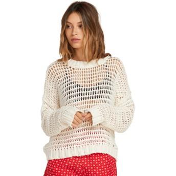 Volcom Star White Daze Fly By Sweater weiß