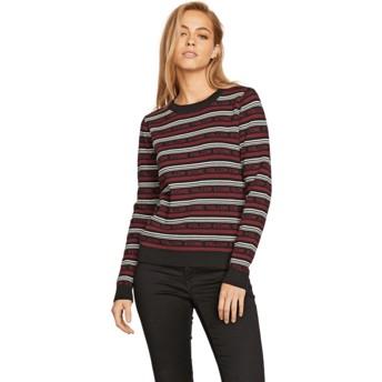 Volcom Black Combo Flip Hop Sweater rot