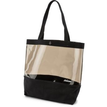 Volcom Black Seein Tote Handbag schwarz