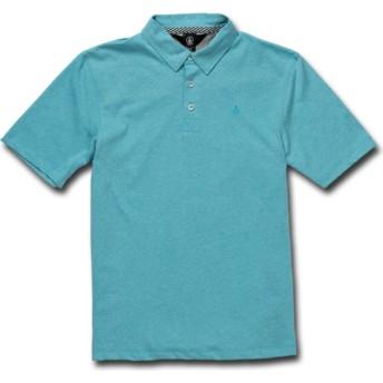 Volcom Kinder Cyan blau Wowzer Poloshirt blau