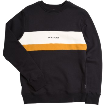 Volcom Kinder Black Single Stone Division Sweatshirt schwarz