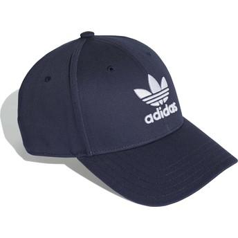 Adidas Curved Brim Trefoil Baseball Adjustable Cap marineblau