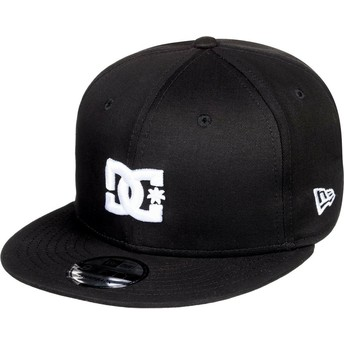 DC Shoes Flat Brim Empire Fielder Snapback Cap schwarz