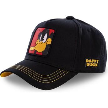 Capslab Curved Brim Daffy Duck DAF3 Looney Tunes Snapback Cap schwarz