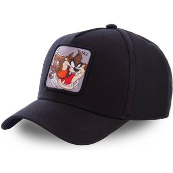 Capslab Curved Brim Tasmanischer Teufel TAZ6 Looney Tunes Snapback Cap schwarz