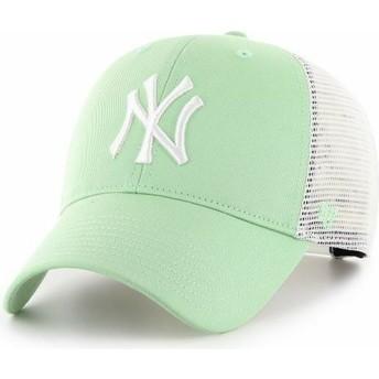 47 Brand MVP Flagship New York Yankees MLB HellTrucker Cap grün