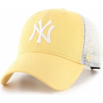 47 Brand MVP Flagship New York Yankees MLB Trucker Cap gelb
