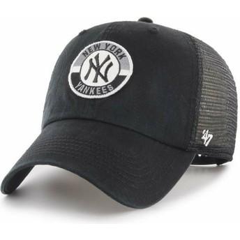 47 Brand Clean Up Porter New York Yankees MLB Trucker Cap schwarz