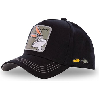 Capslab Curved Brim Bugs Bunny BUN3 Looney Tunes Snapback Cap schwarz