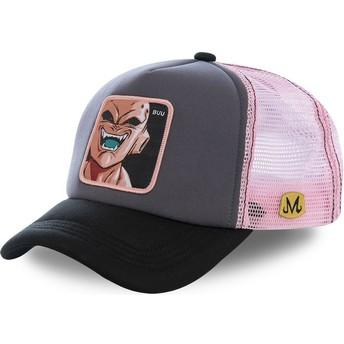 Capslab Dämon Boo BUU3M Dragon Ball Trucker Cap grau und pink