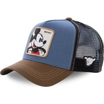 Capslab Mickey Mouse MIC1 Disney Trucker Cap blau