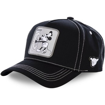 Capslab Curved Brim Mickey Mouse Vintage VIN1 Disney Snapback Cap schwarz