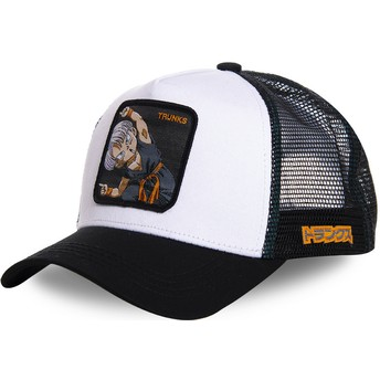 Capslab Trunks Fusion TRK2 Dragon Ball Trucker Cap weiß