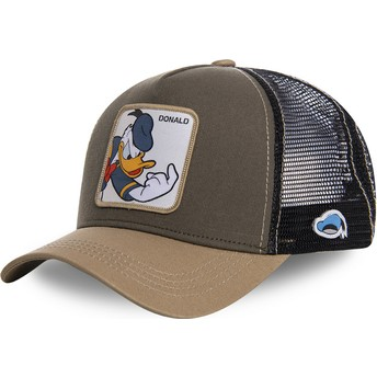Capslab Donald Duck DON1 Disney Trucker Cap braun