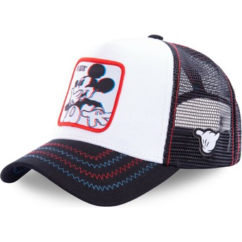 Capslab Mickey Mouse Floatin FLO Disney Trucker Cap weiß