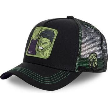Capslab Hulk HLK2 Marvel Comics Trucker Cap schwarz