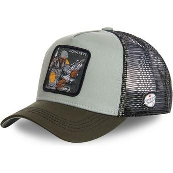 Capslab Boba Fett BOB3 Star Wars Trucker Cap grün