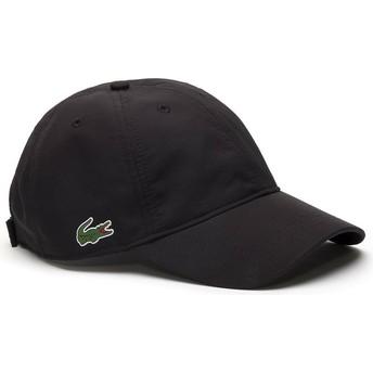 Lacoste Curved Brim Basic Dry Fit Adjustable Cap schwarz