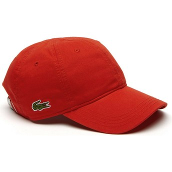 Lacoste Curved Brim Basic Side Crocodile Adjustable Cap rot