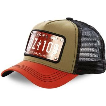 Von Dutch Arizona Plate ARI2 Trucker Cap schwarz braun
