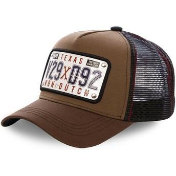 Von Dutch Texas Plate TEX1 Trucker Cap braun