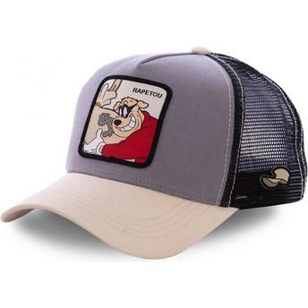 Capslab Beagle Boys BEA2 Disney Trucker Cap braun