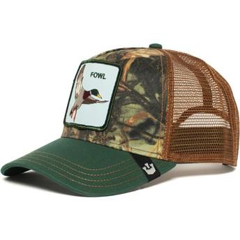 Goorin Bros. Duck Duck Trucker Cap grün und braun