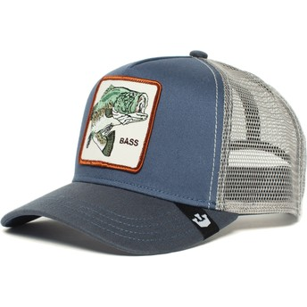 Goorin Bros. Fish Big Bass Trucker Cap blau