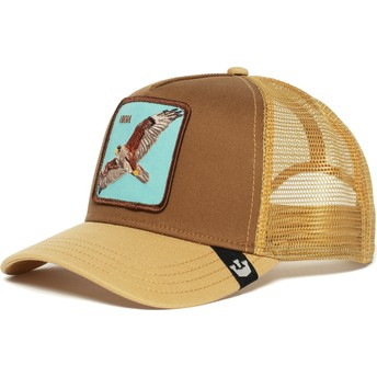 Goorin Bros. Hawk High Trucker Cap braun