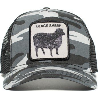 Goorin Bros. Sheep Naughty Lamb Trucker Cap camo und schwarz