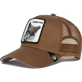 Goorin Bros. Silver Fox Trucker Cap braun