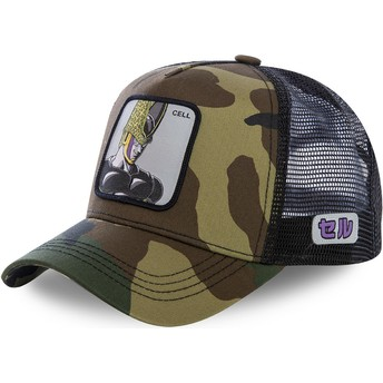 Capslab Cell CEL Dragon Ball Trucker Cap camo
