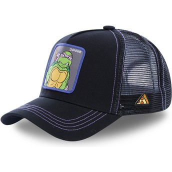 Capslab Donatello DON Teenage Mutant Ninja Turtles Trucker Cap schwarz