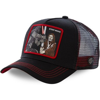 Capslab Darth Vader Vs Obi-Wan LTD2 Star Wars Trucker Cap schwarz