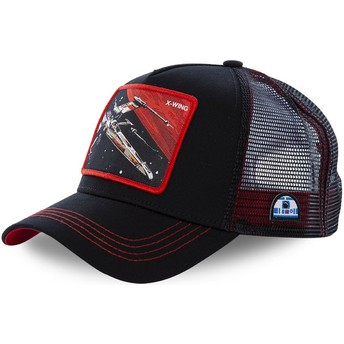 Capslab X-wing starfighter LTD6 Star Wars Trucker Cap schwarz