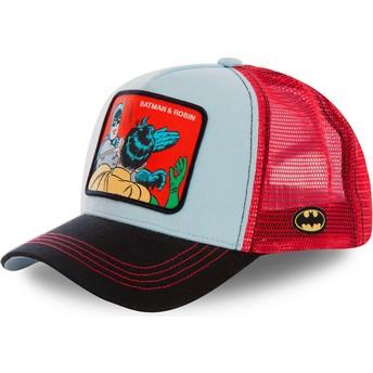 Capslab Batman & Robin MEM1 DC Comics Trucker Cap blau und rot