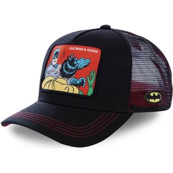 Capslab Batman & Robin MEM2 DC Comics Trucker Cap schwarz