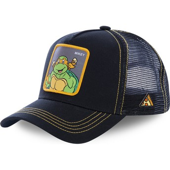 Capslab Michelangelo MIK Teenage Mutant Ninja Turtles Trucker Cap schwarz