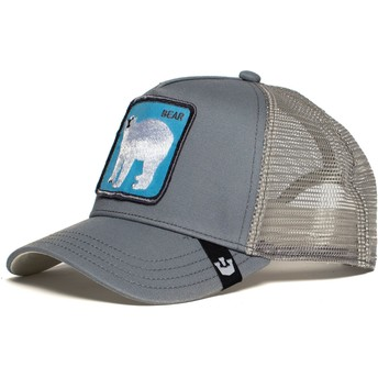 Goorin Bros. Polar Bear Bearrr Trucker Cap grau