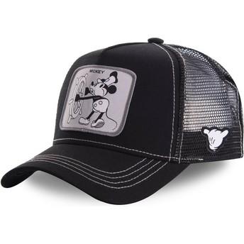 Capslab Mickey Mouse Vintage VIN2 Disney Trucker Cap schwarz
