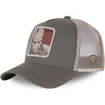 Capslab Groot GRO3 Marvel Comics Trucker Cap grau