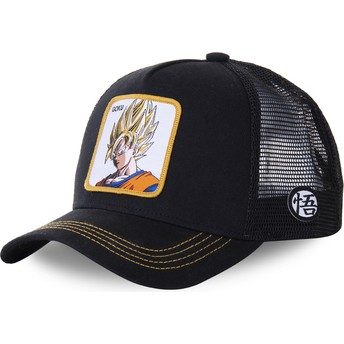 Capslab Son Goku Super Saiyan GO4 Dragon Ball Trucker Cap schwarz