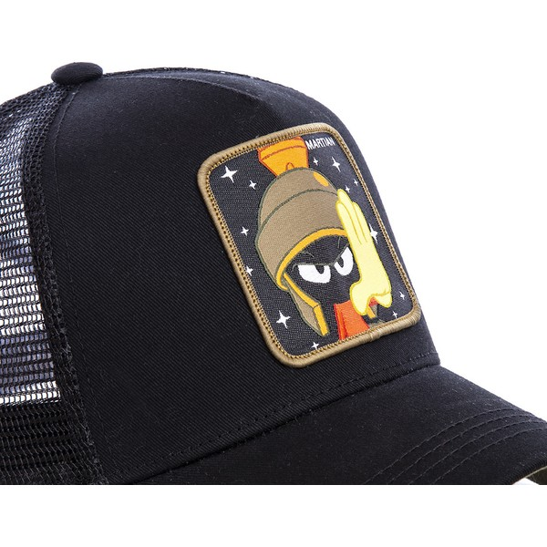 capslab-marvin-the-martian-mar1-looney-tunes-black-trucker-hat